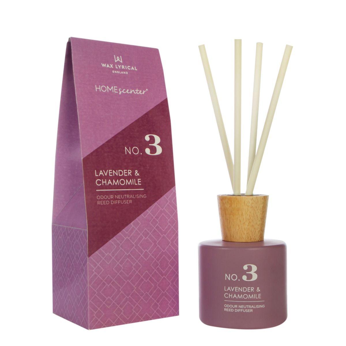 Lavender & Chamomile 180ml Reed Diffuser