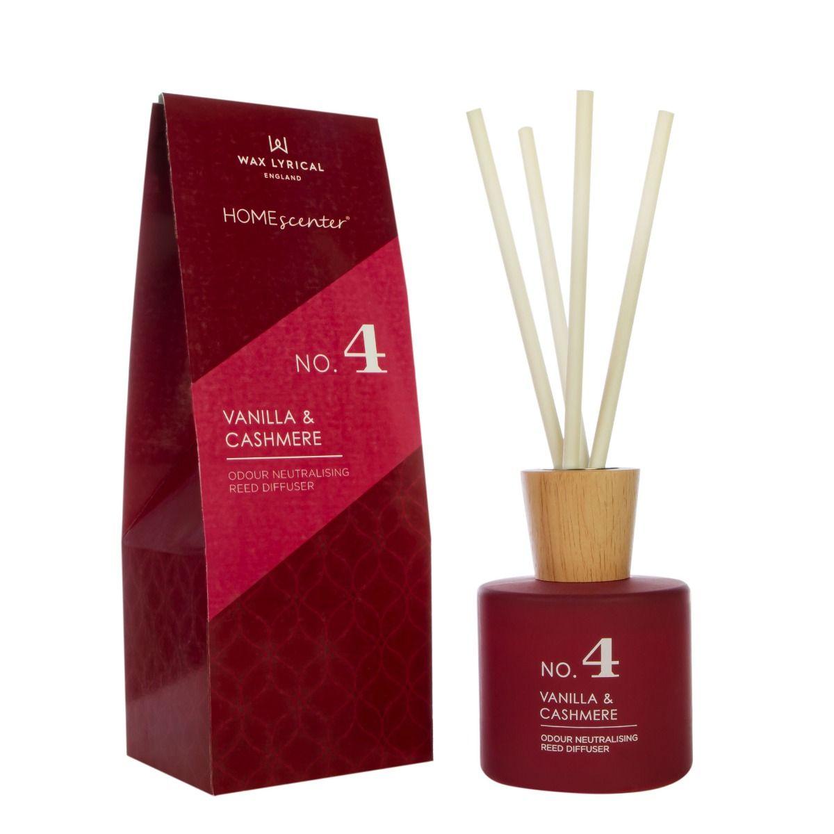 Vanilla & Cashmere 180ml Reed Diffuser