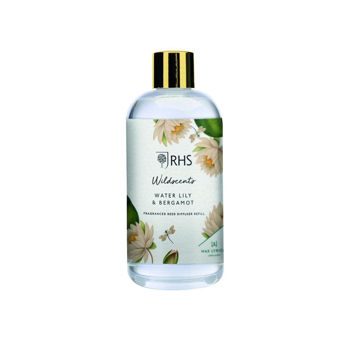 Water Lily & Bergamot 200ml Diffuser Refill