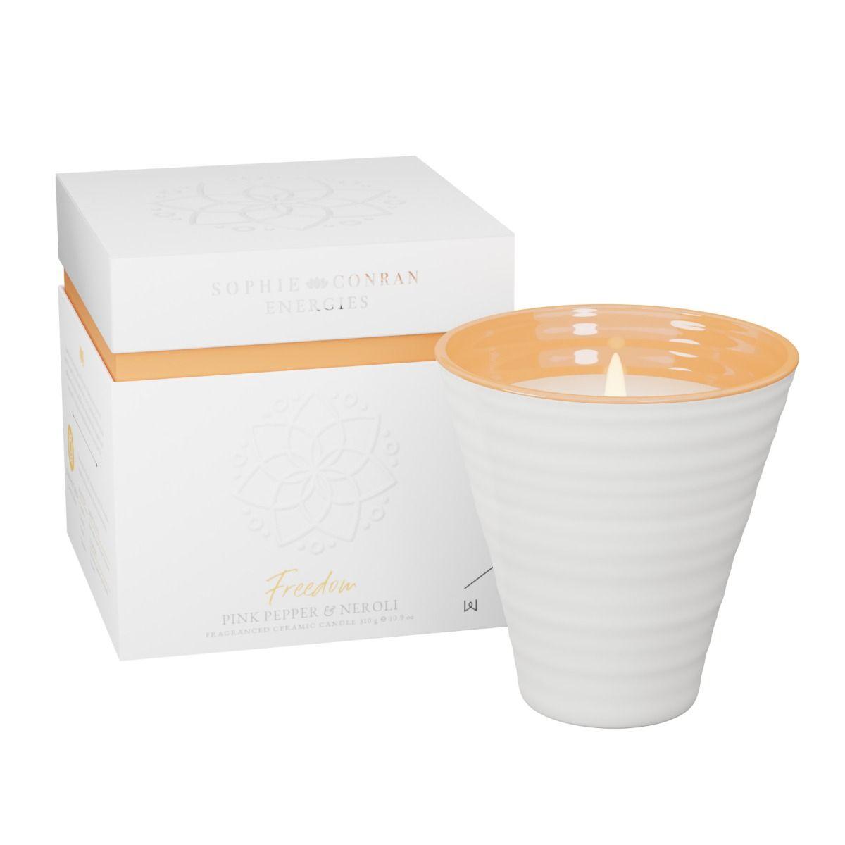 Sophie Conran Energies | Pink Pepper & Neroli Ceramic Candle