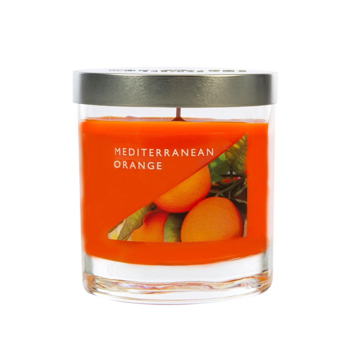 Mediterranean Orange Medium Candle