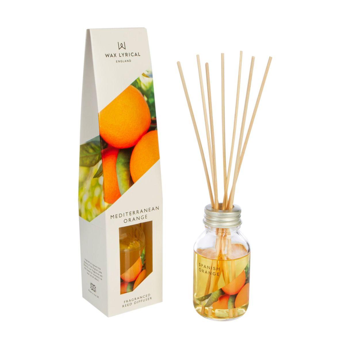 Mediterranean Orange Reed Diffuser 100ml
