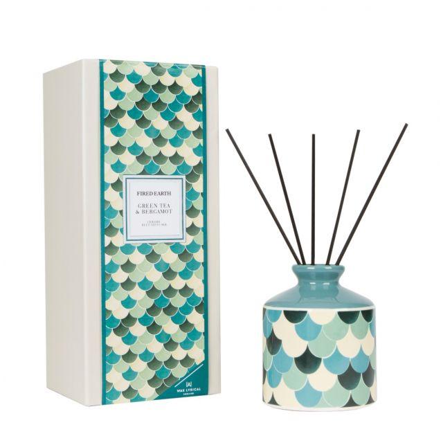 Green Tea & Bergamot Ceramic Reed Diffuser