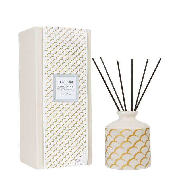 White Tea & Pomegranate Ceramic Reed Diffuser