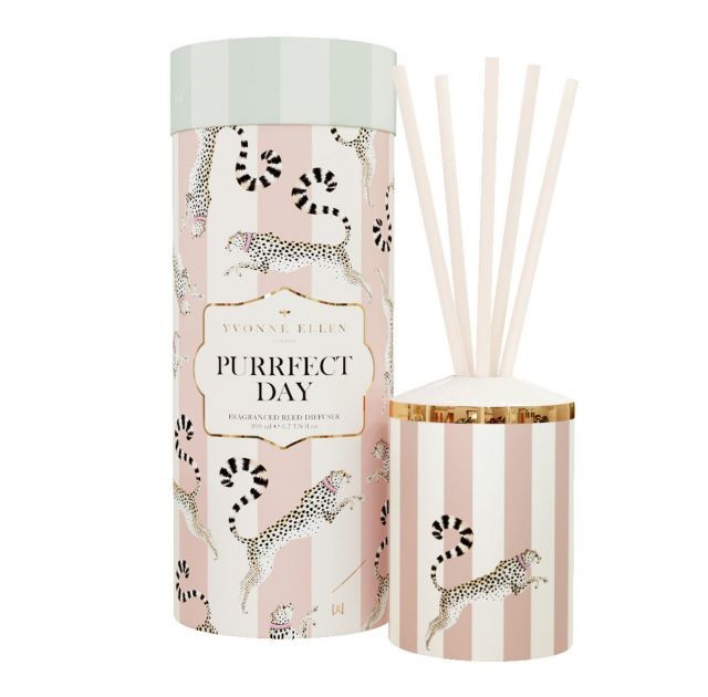Purrfect Day Ceramic Reed Diffuser