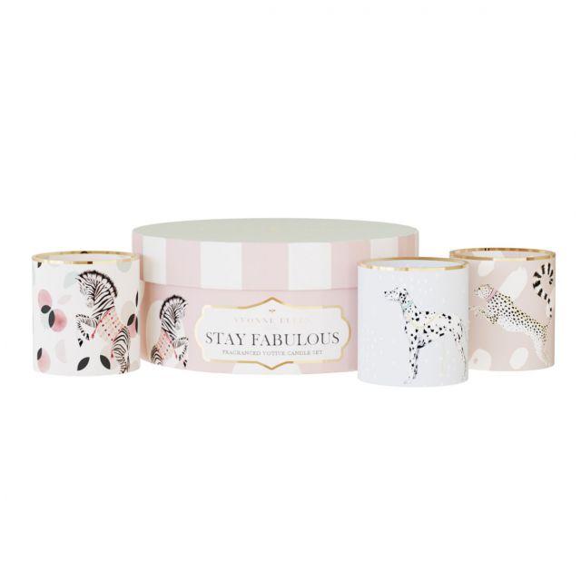 So Fabulous Ceramic Candle Gift Set
